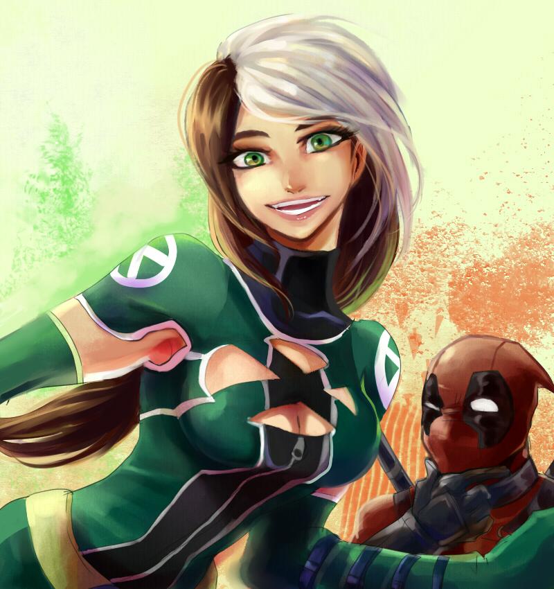 Rogue And Deadpool By GAN-91003 On DeviantArt