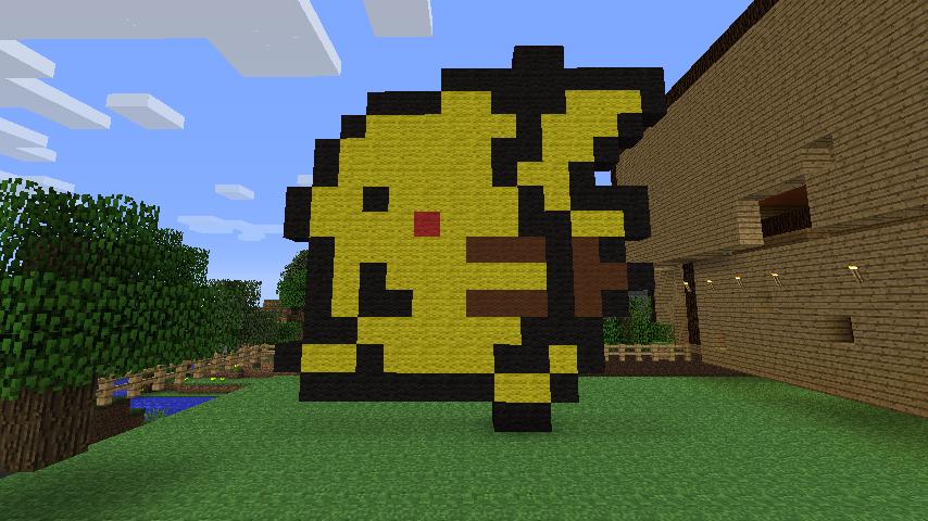 Pikachu Minecraft Pixel Art By Mrlowie321 On Deviantart