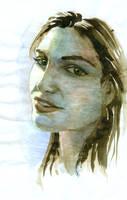 Portrait in Watercolor by Chutzpah10