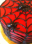 Spider Butter Cream Cake-Close Up by Spudnuts