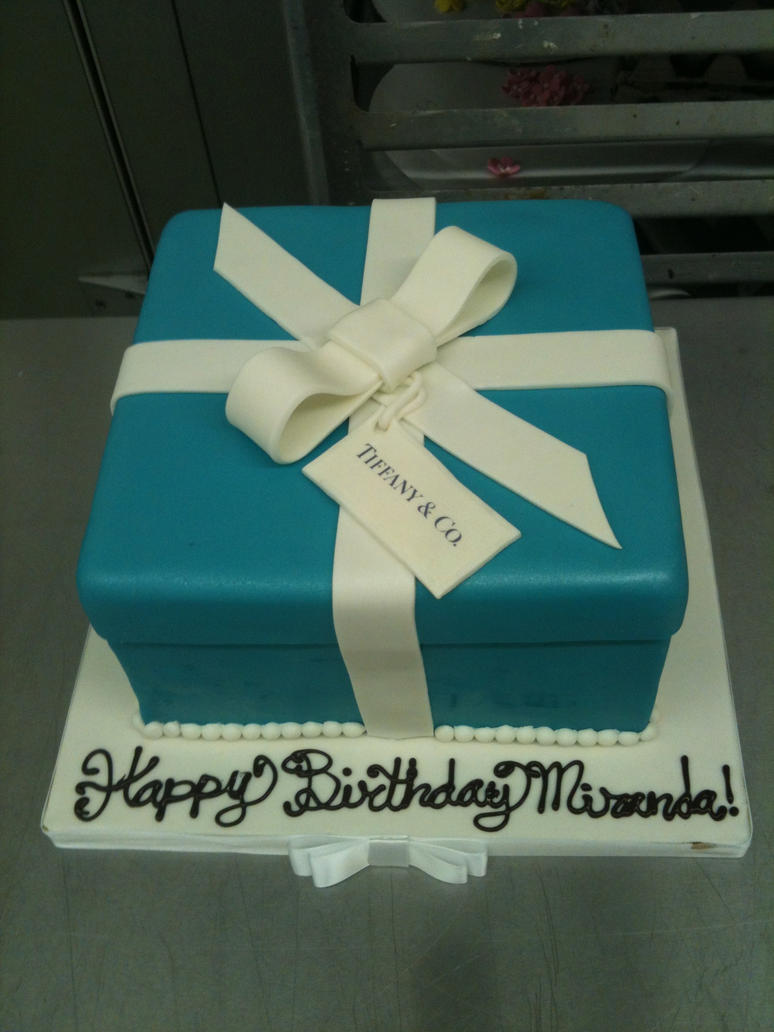 Tiffany and Co. Cake by Spudnuts