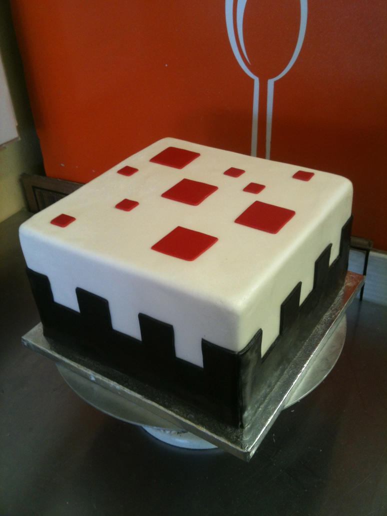 Minecraft Cake Cake by Spudnuts on DeviantArt