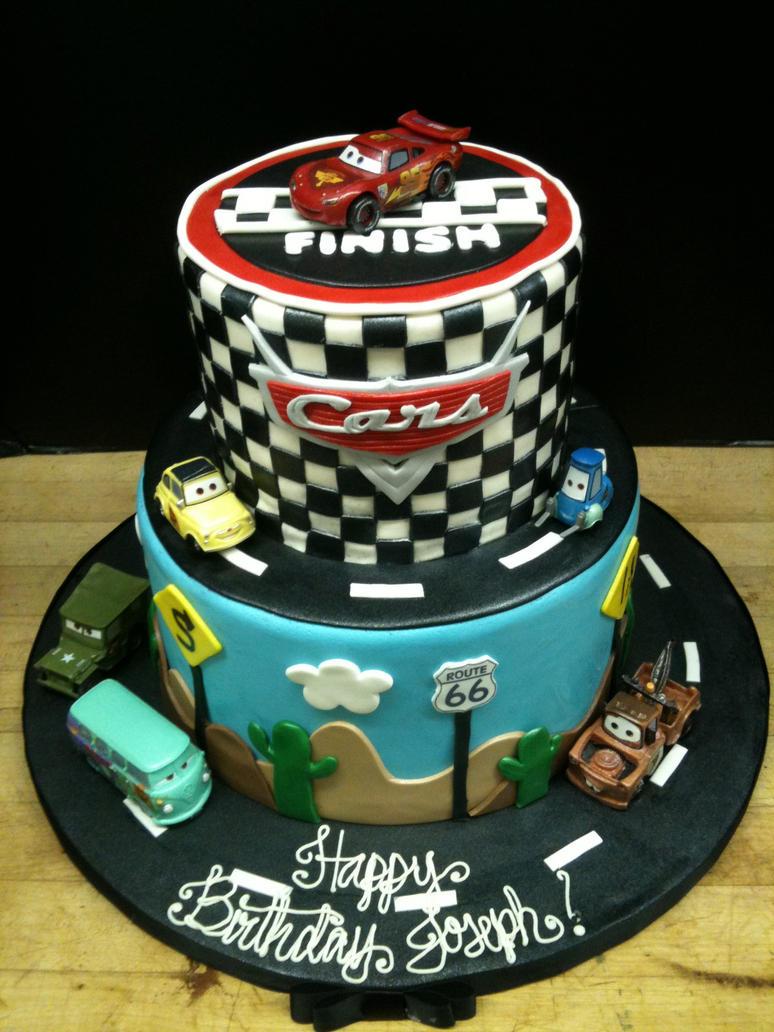 Buy Disney Cars Birthday Cake