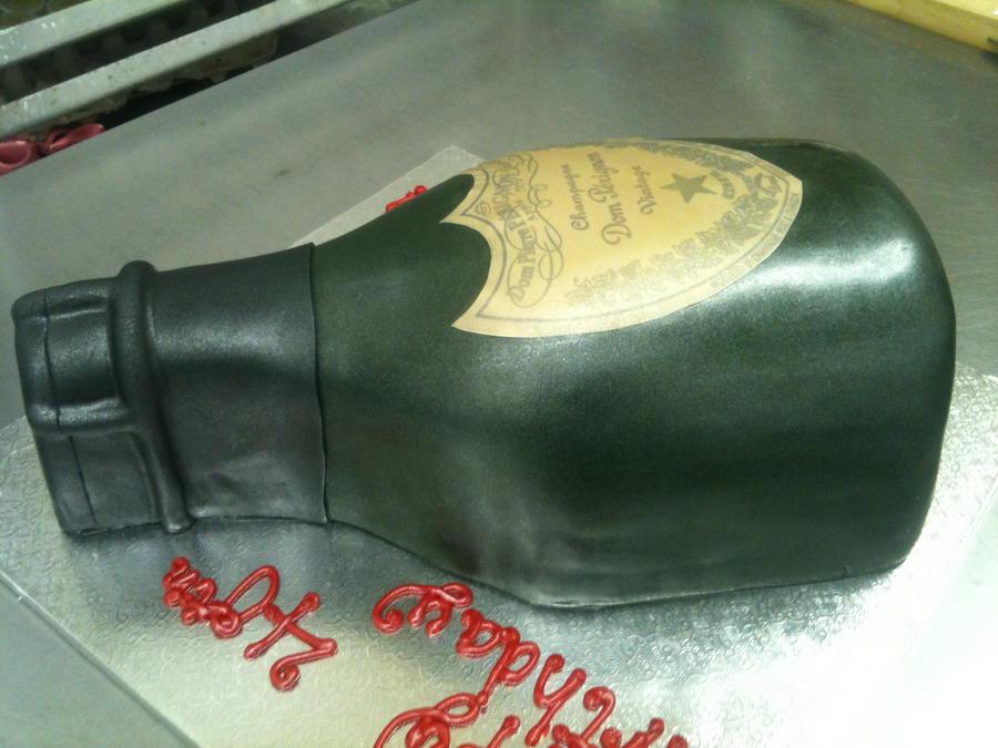 Dom Perignon Cake by Spudnuts