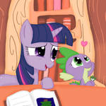 Twilight and Spike: Research