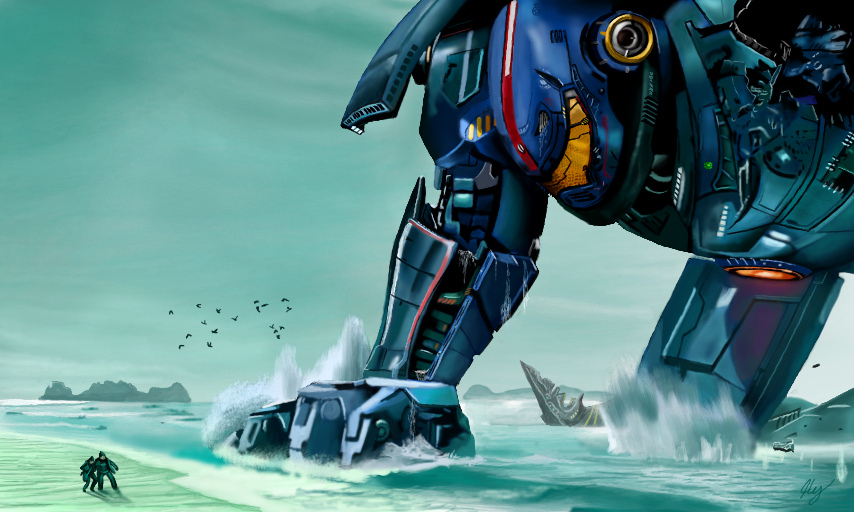 Pacific Rim by WeaponX-Art