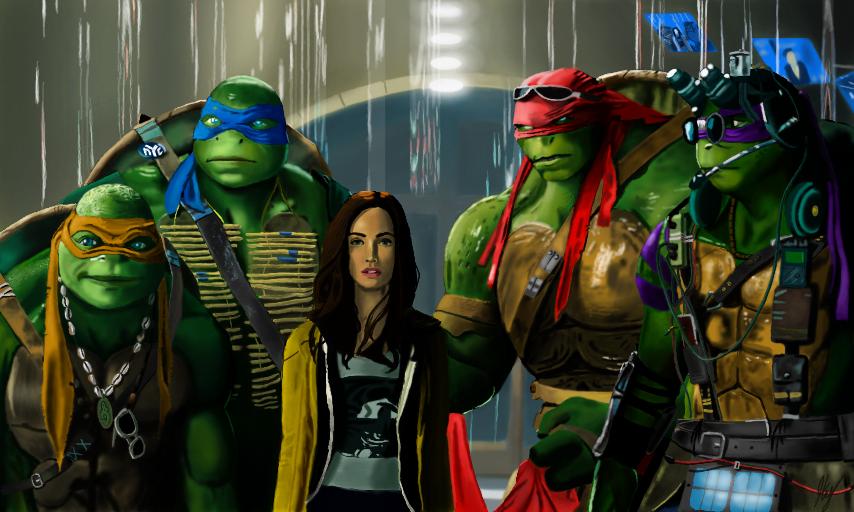 Teenage Mutant Ninja Turtles by WeaponX-Art