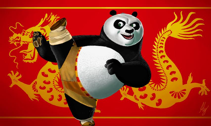 Kung Fu Panda by WeaponX-Art