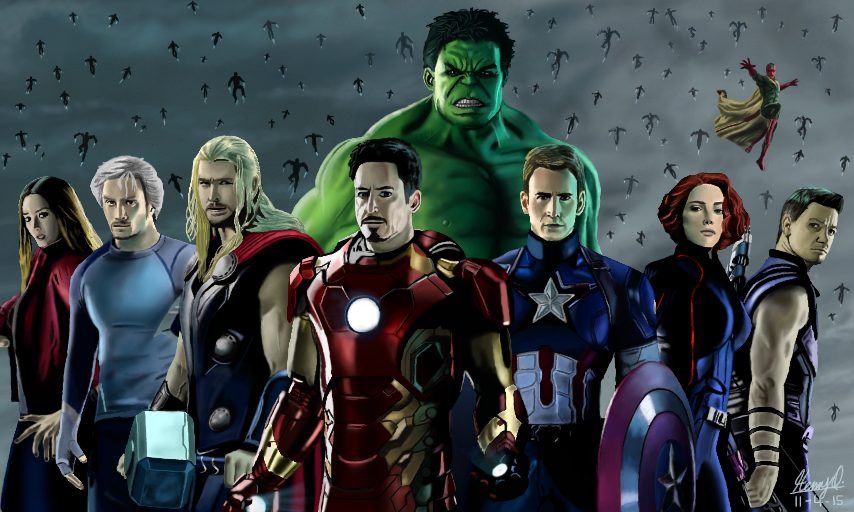 Avenger: Age Of Ultron by WeaponX-Art