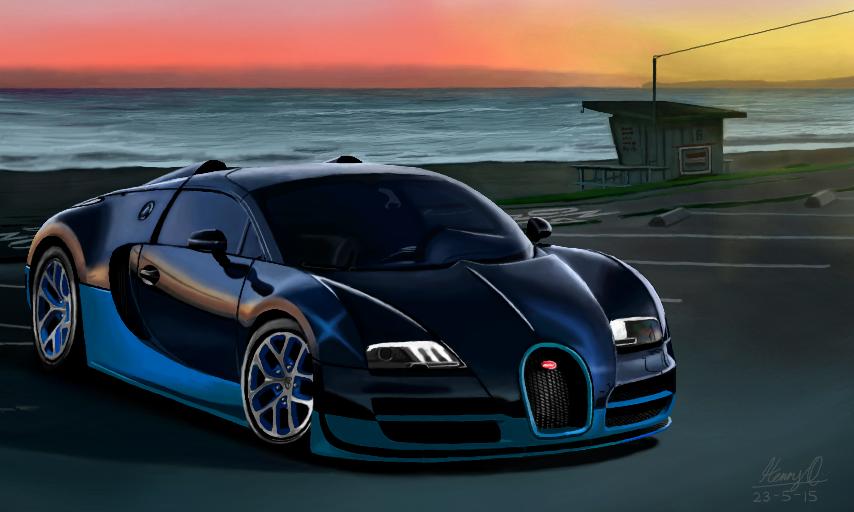 Bugatti Veyron by WeaponX-Art