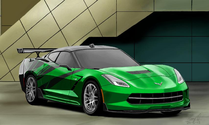 Corvette Stingray by WeaponX-Art