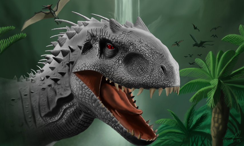 Indominus Rex by WeaponX-Art