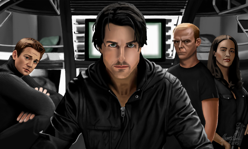 Mission: Impossible - Ghost Protocol by WeaponX-Art