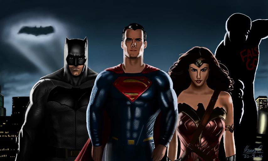Batman V Superman: Dawn Of Justice by WeaponX-Art