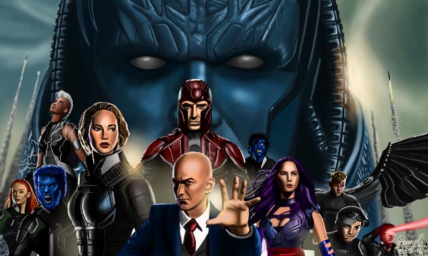 X-Men: Apocalypse by WeaponX-Art