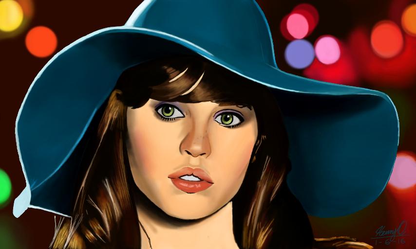 Felicity Jones by WeaponX-Art