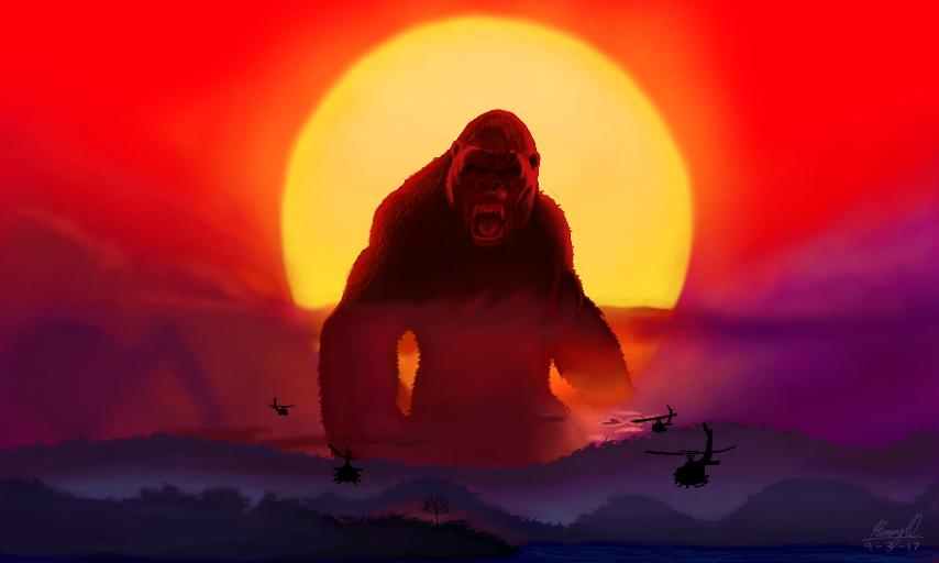 Kong: Skull Island By WeaponX-Art On DeviantArt