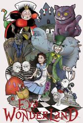 Eva in Wonderland by RyanBayliss