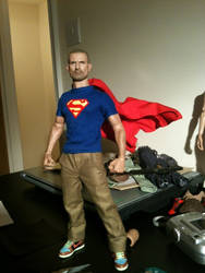 New Superman Shirt (1/6 scale) by RyanBayliss