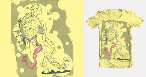 TEENS IN '84, FORTIES IN '13 Threadless Tee Design