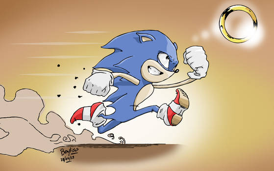Sonic 30 minute Sketch