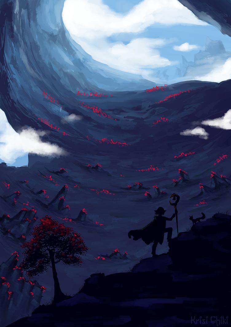 Exploring the Mountains by KrisiChiki