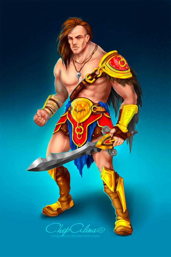 Barbarian by ChepAlina