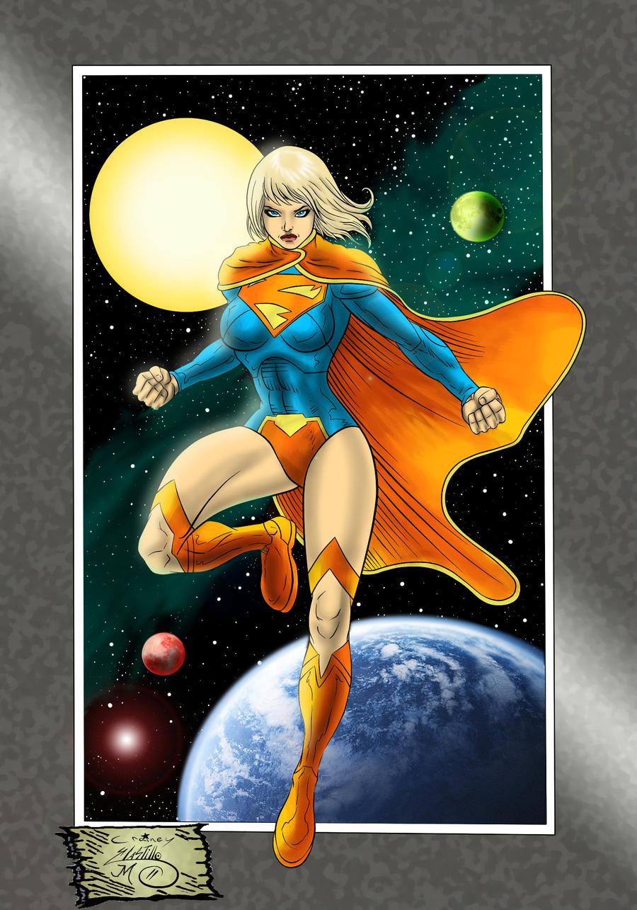 C-Crain New 52 Supergirl by MatthewLosure