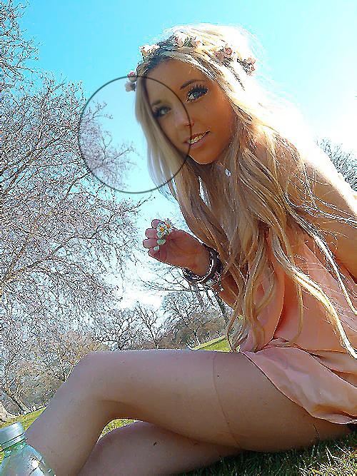 фото девушки блондинки частное