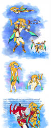 Wild Zora Link by Humanoid-Magpie