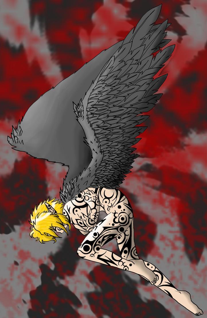 Dark Angel Link by Humanoid-Magpie