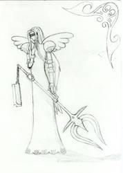 Femme Warrior Angel by Manc84