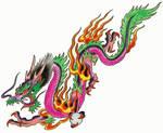 oriental dragon by ronnie38