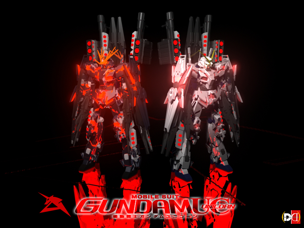 Gundam Unicorn by DareDesignStudio