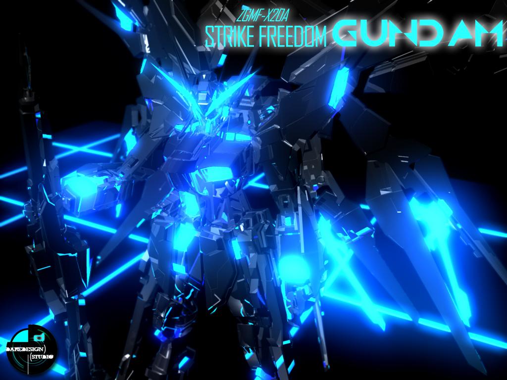Strike Freedom TRON Edition by DareDesignStudio