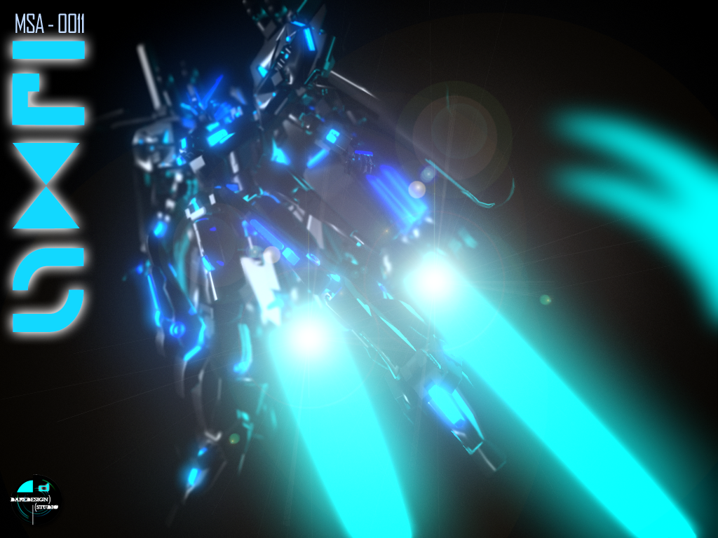Gundam EX-S TRON Edition by DareDesignStudio