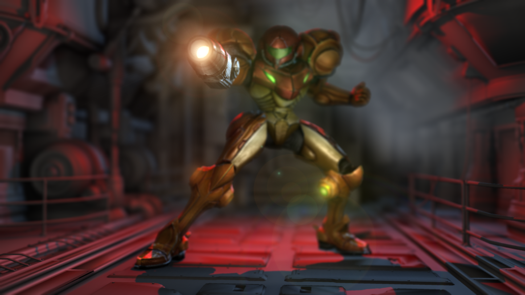 My Name Is Samus (HD Faux 3D) by DareDesignStudio