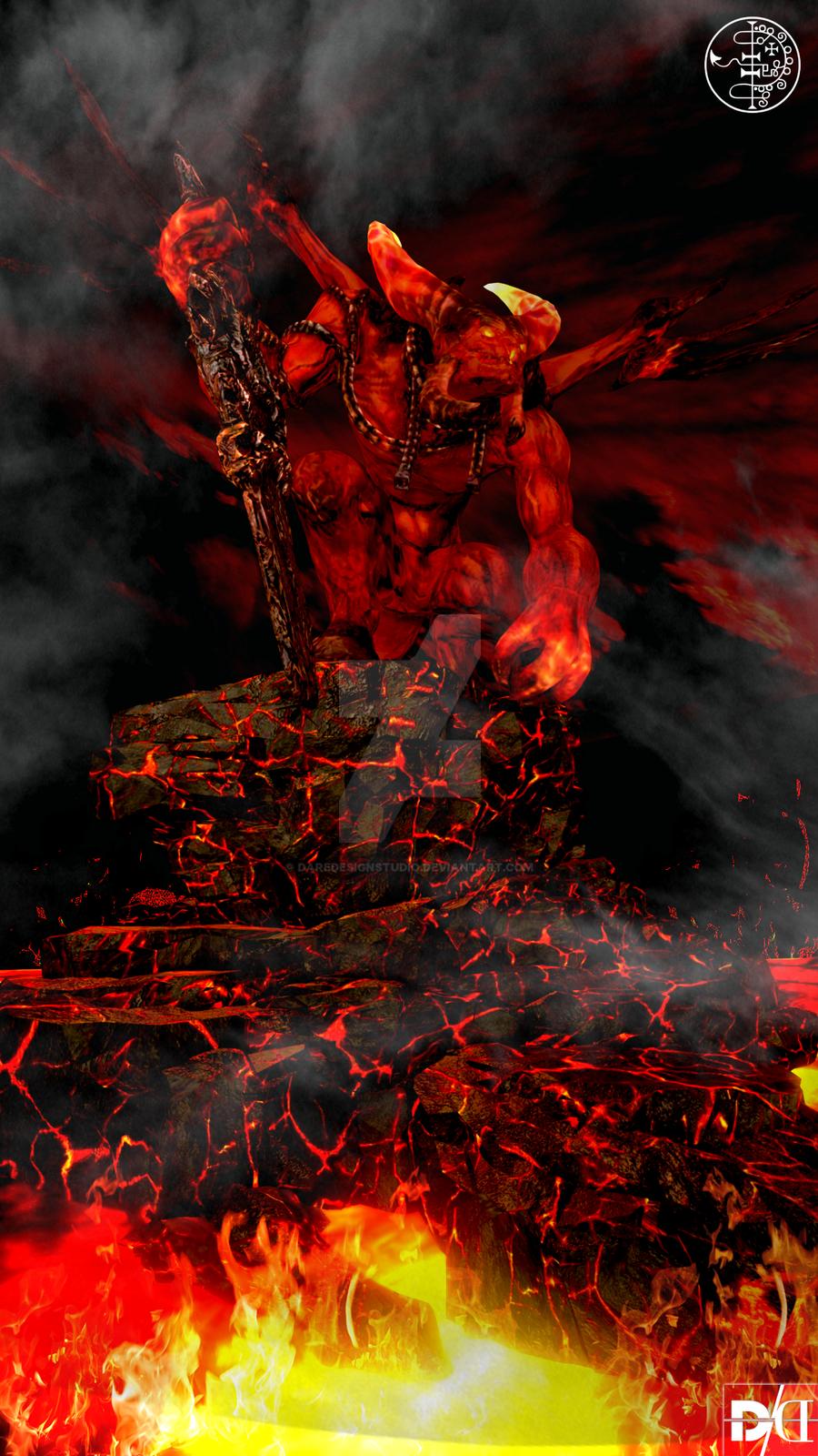 Asmodeus: Demon of Wrath by DareDesignStudio on DeviantArt