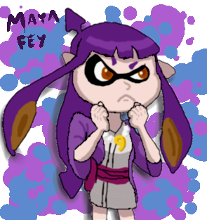 Maya the Inkling by j3-proto