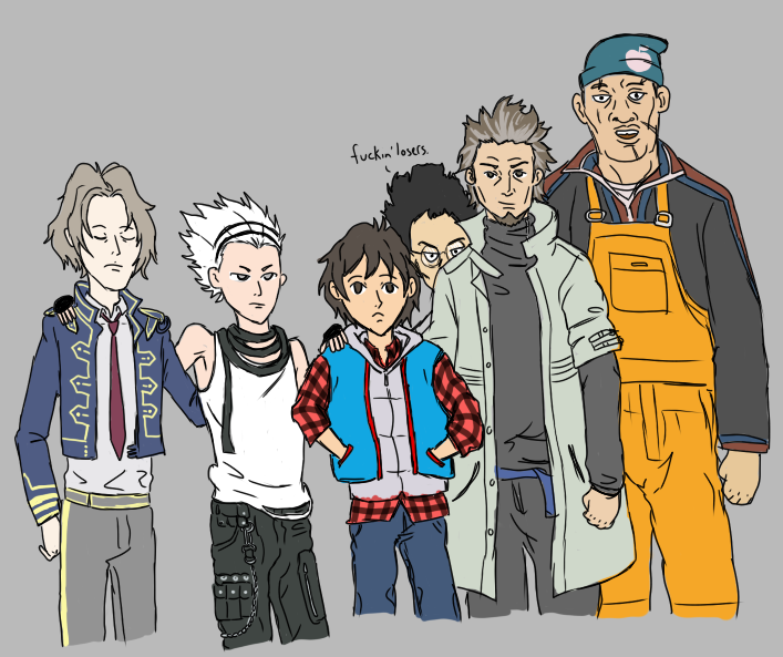 The Guys of 999 by j3-proto