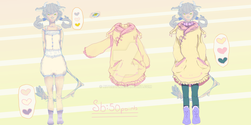 Sheep-child adopt[Closed] by Nituraa