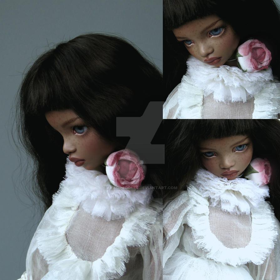 Caramel, porcelain doll by FragileDolls