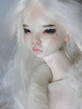 Moth art doll by FragileDolls