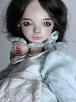 Porcelain art doll by FragileDolls