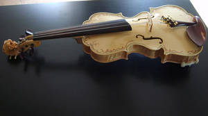 17th century model violin just finished