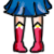 FREE Avatar - Sailor Moon Shoes by Flusjaa
