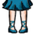 FREE Avatar - Sailor Neptune Shoes by Flusjaa