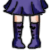FREE Avatar - Sailor Saturn Shoes by Flusjaa
