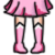 FREE Avatar - Sailor Chibi Moon Shoes by Flusjaa