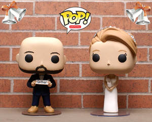 Funko POP Custom Wedding Cake Toppers